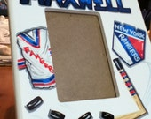 Picture Frame  Custom Sports Team  Personalized and HandpaintedArt 4 x 6