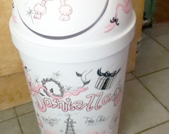 Hamper - Paris Theme - Handpainted and Personalized