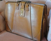 Your Father's Briefcase....Vintage Atlas Philadelphia Leather