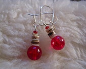 Holly Berry Hot earrings