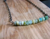 CLEARANCE Peruvian Opal Necklace