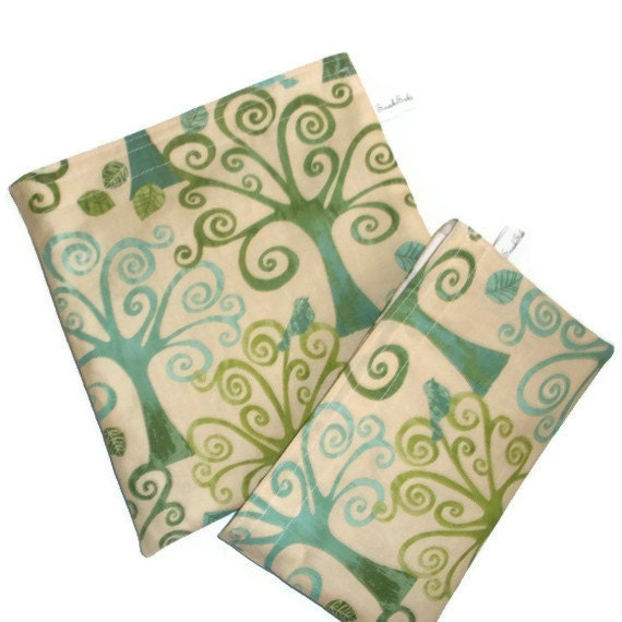 Snaksaks Reusable Sandwich and Snack bag - Go Green Trees