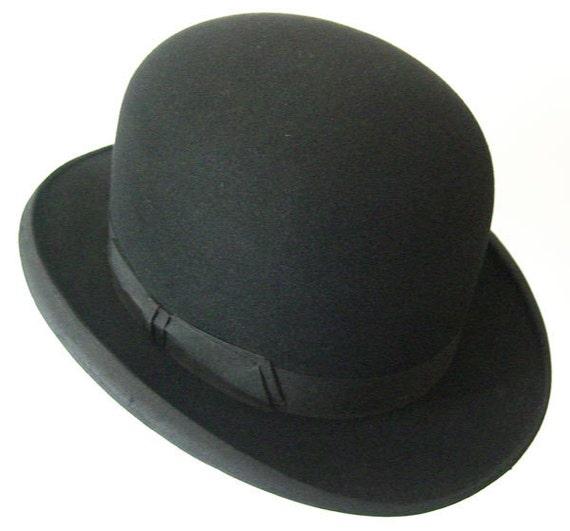 "23"" - Vintage Nisenson & Sons Men's Black Derby"