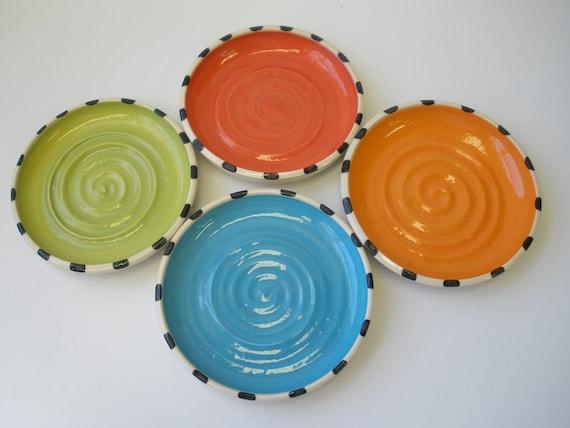 Tea Bag Holder, Olive Oil Plate, Small Saucer, Little Plates