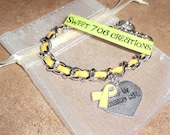 Keep My Husband Safe Bracelet MUSTARD YELLOW