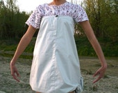 SALE-OOAK Light grey convertible  dress/skirt.Limited edition MARMELADE