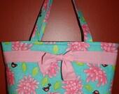 PDF Pattern for Mary-Lou Tote Bag Purse- Fat Quarter Friendly