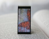 Butterfly Print 3 - Rectangle Magnetic Bookmark