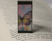 Butterfly Print 5 - Rectangle Magnetic Bookmark