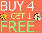 Amigurumi Pattern - Buy 4 Get 1 free (9 usd series)