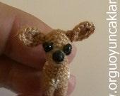 Amigurumi  1 inc  Miniature Fawn Pattern