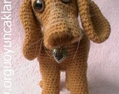Amigurumi 8 inc Dog Pattern