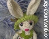 Amigurumi 19 inc Bunny Pattern