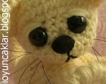 Amgurumi Baby Cat
