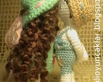 Amigurumi Valentine Dolls