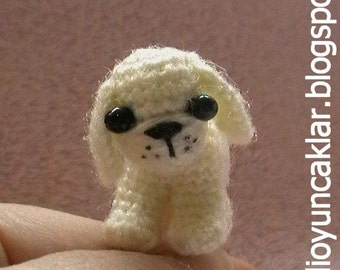 Amigurumi 1.2 inc Miniature Dog Pattern