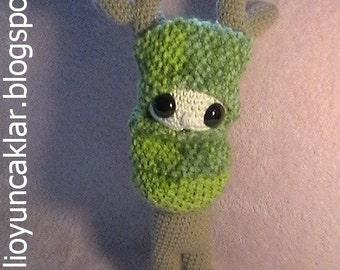 Crochet Reindeer Doll