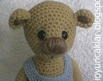 Amigurumi 11 inc Teddy Bear Pattern