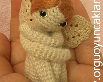 Crocheted Miniature Angel