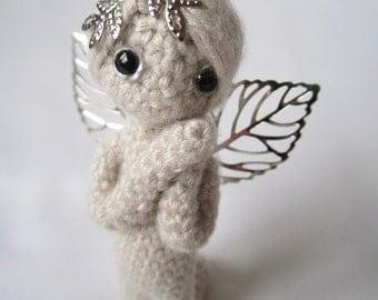 Crocheted 2.7 inc Miniature Angel