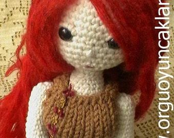 Amigurumi Fall Doll