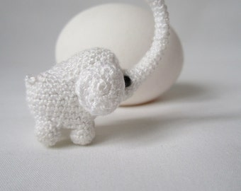 Crochet 1 inc Miniature Elephant