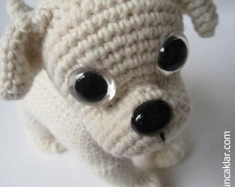 Crocheted Cotton Bulldog