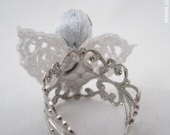 Amigurumi Adjustable Ring : Amigurumi Christmas Ornament Pattern