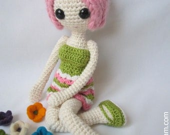 Amigurumi Pink Doll