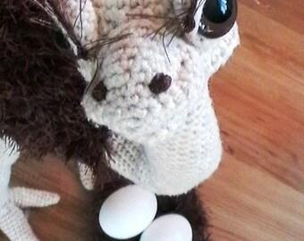 Amigurumi Ostrich