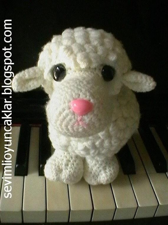 Etsy Amigurumi Sheep : Amigurumi Sheep Pattern