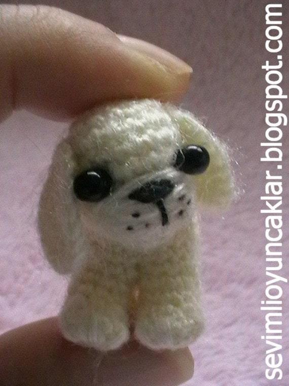 Crochet 1.2 inc Miniature Dog