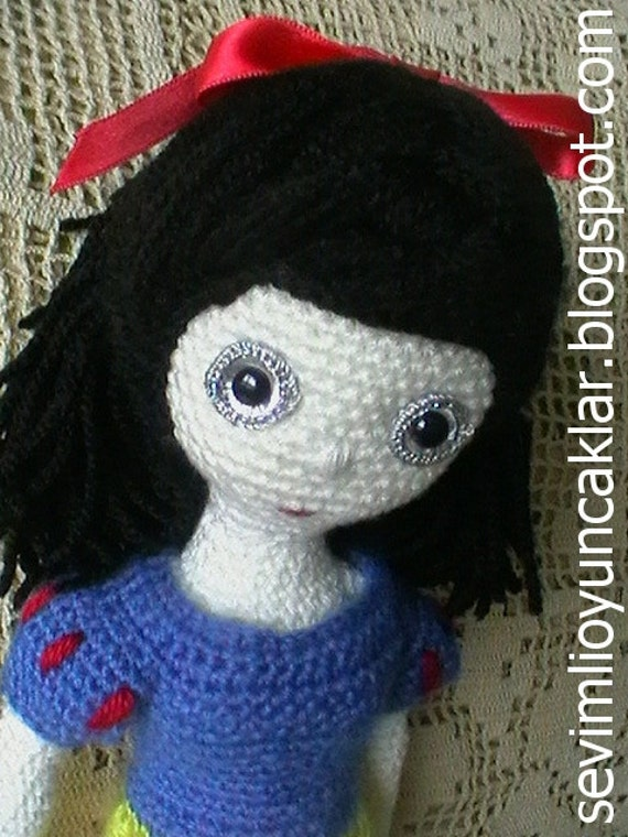 Amigurumi Snow White Pattern