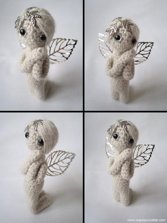 Amigurumi Weeping Angel Pattern : Amigurumi 2.7 inc Miniature Angel Pattern from Denizmum on ...