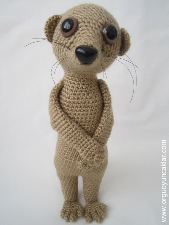 Amigurumi meerkat pattern from denizmum on etsy studio
