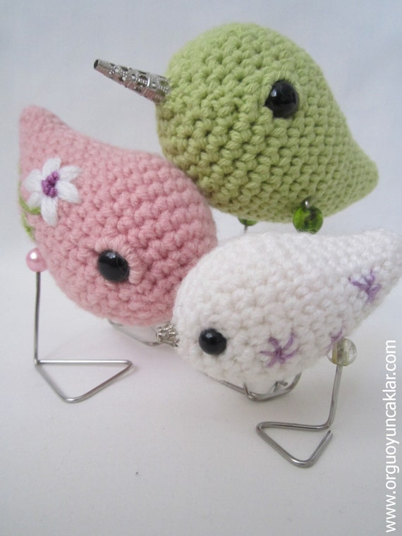 Amigurumi Bird Family Pattern