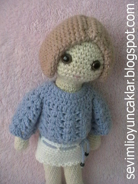 Amigurumi Pattern Dolls : Amigurumi 12 inc Doll Pattern