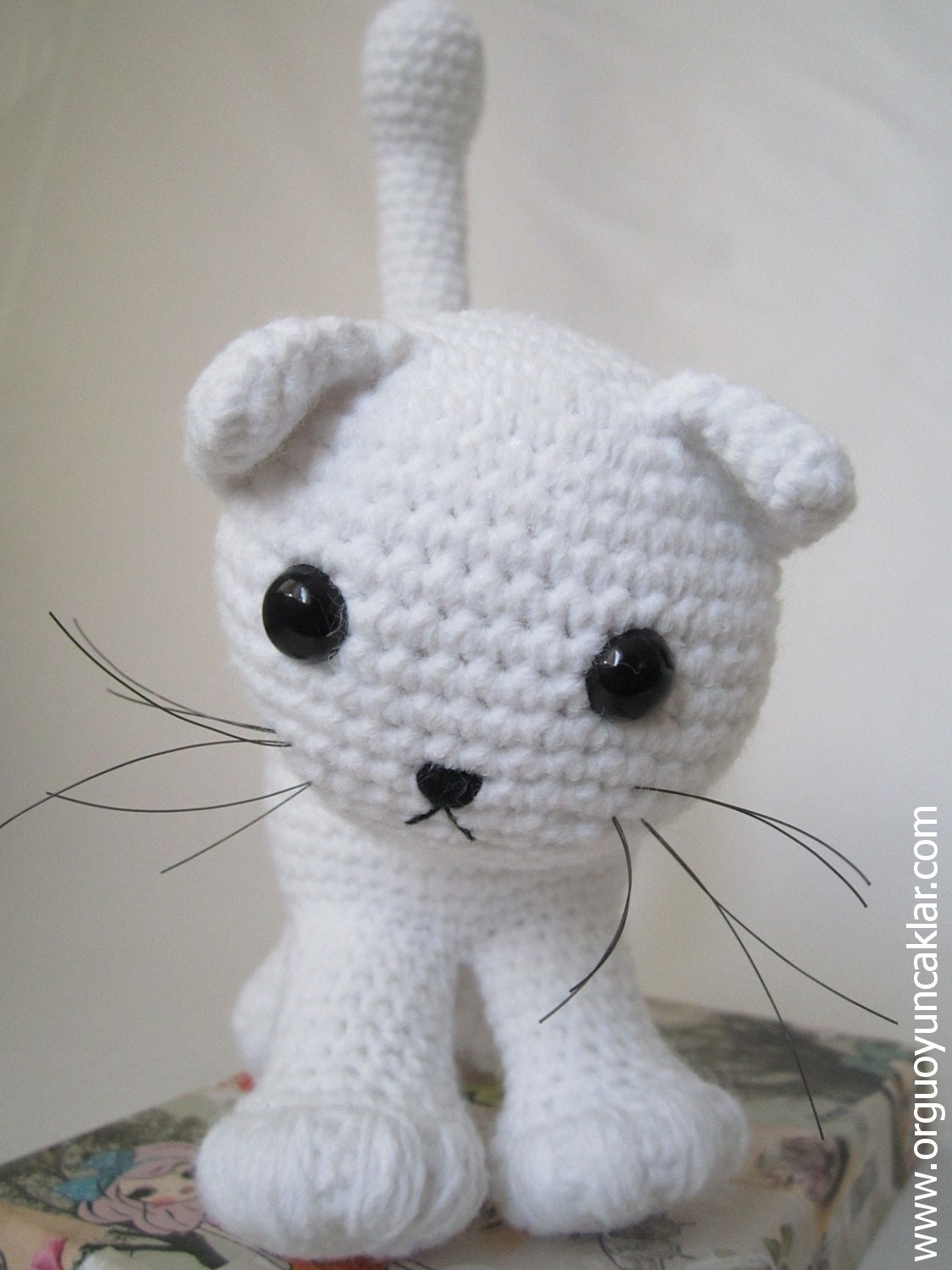 Knitted Amigurumi Cat Pattern : Amigurumi Cat Pattern