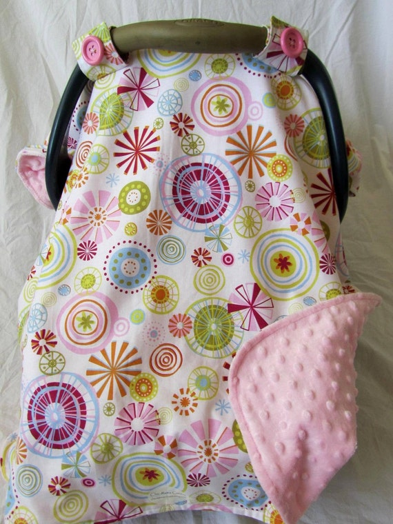 Baby Car Seat Cover Canopy girl winter