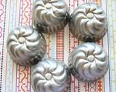 Making Jello or Storing Treasures - Vintage Swirly Jello Tins