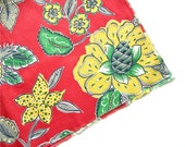 Fabric Flower Garden - Vintage Fabric