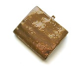 Glitz and Glam - Vintage Gold Mesh Whiting and Davis Wallet
