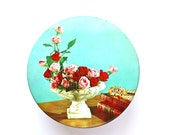Flowers For You - Vintage Tin Can