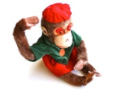 Monkey Around - Vintage Poseable Monkey Made in Japan