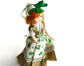 A Lucky Girl - Vintage St Patrick's Day Doll