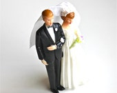 For the Top Layer - Vintage Wedding Cake Topper