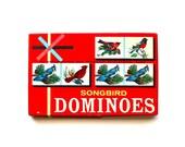 The Birds are Singing - Vintage Songbird Dominoes
