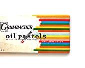 Color Your World - Vintage Oil Pastels - Set of 48 Grumbacher Pastels