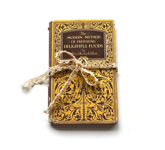 Beautiful Baking - Antique 1927 Cookbook by Ida Bailey Allen