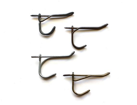 Get Hooked - Antique Set of 4 Metal Hooks